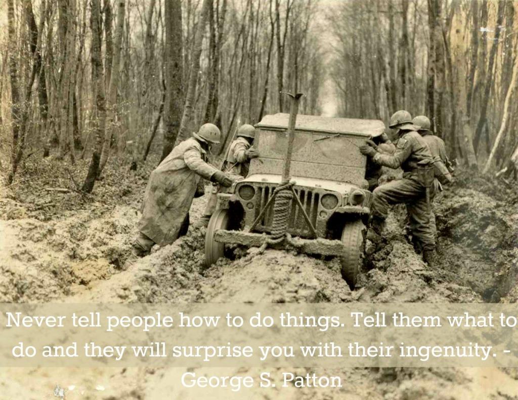 2 Patton Quote- History