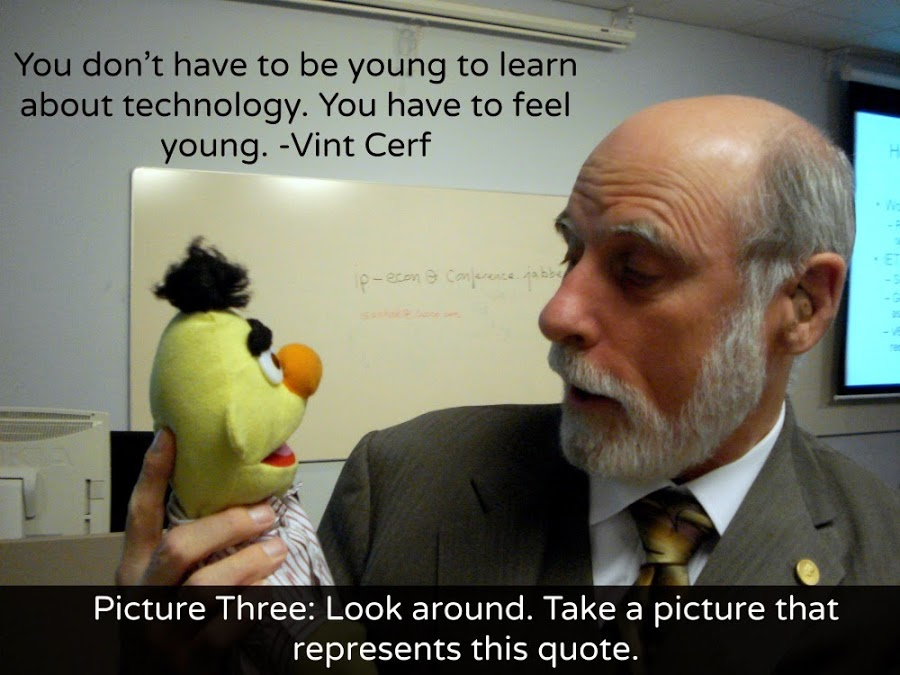 Vint Cerf Pic 3 with Quote