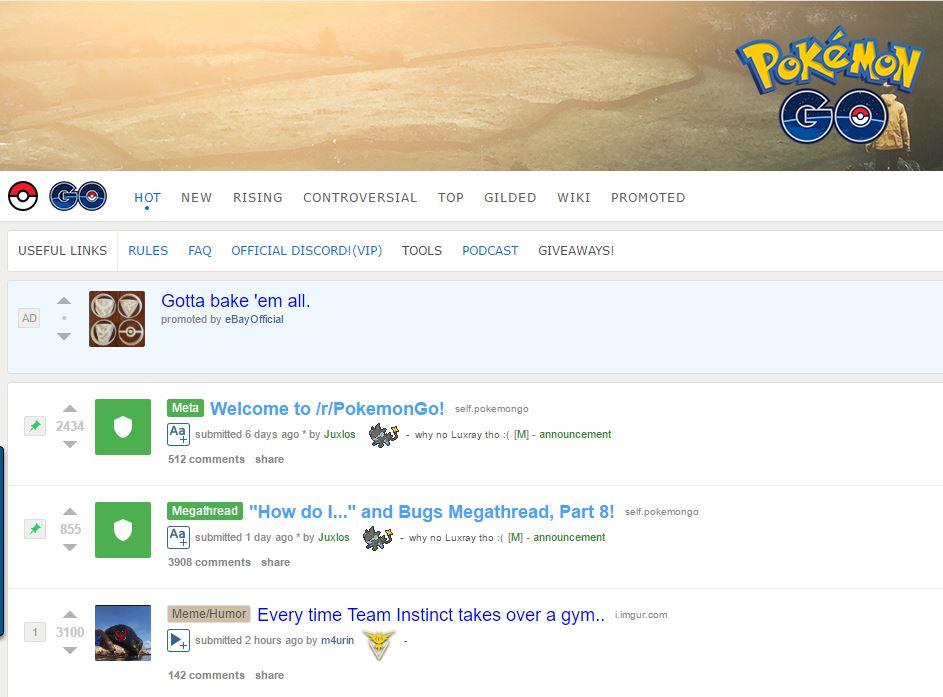 Pokemon Subreddit